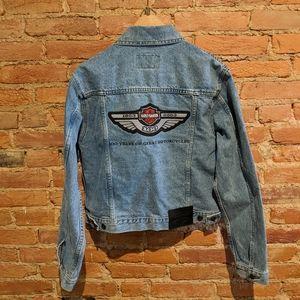 Brand New Harley Davidson 2003 Jean Jacket